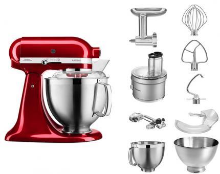 KitchenAid Artisan Küchenmaschine Liebesapfelrot 4.8L Bundle
