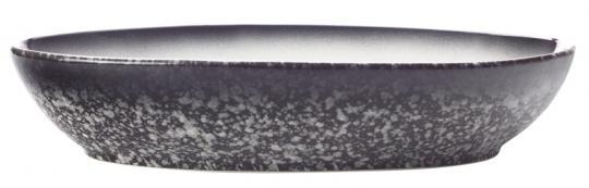 Maxwell & Williams Schale Oval 20x14 cm Caviar Granite