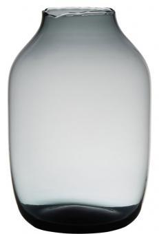 Hakbijl Vase Femke grau H 21 cm Ø 14 cm SC