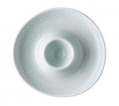 Rosenthal Selection Junto Opal Green Eierbecher mit Ablage