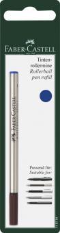 Faber-Castell Tintenrollermine blau M in BK