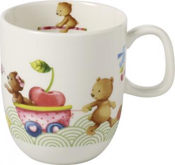 Villeroy & Boch Hungry As A Bear Kinderbecher mit Henkel Groß