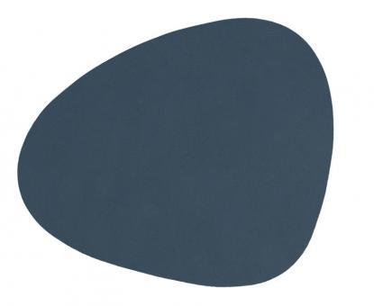 Lind DNA Glass Mat Curve Nupo Dark Blue