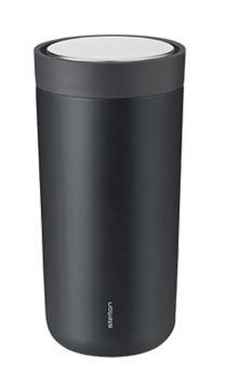 Stelton To-Go Click doppelwandig steel 0,4 L granite grey/metallic