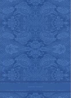 Garnier-Thiebaut Geschirrtuch Isaphire Bleu Metis 56 x77 cm