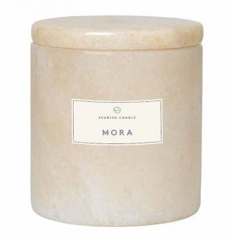 Blomus Frable Marmor-Duftkerze Moonbeam