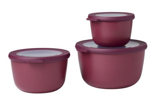 Mepal Multischüssel Cirqula 3-tlg. (500+1000+2000 ml) Nordic Berry
