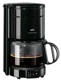 Braun Kaffeemaschine Aromaster 1.000 W 10 Tassen schwarz
