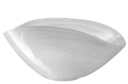 Leonardo Alabastro Schale 28x14 cm Weiß