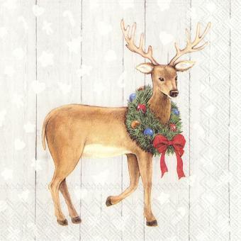 IHR Lunch-Servietten 33x33 cm Whimsical Deer