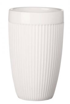 ASA Selection Thermobecher Striped, Weiß