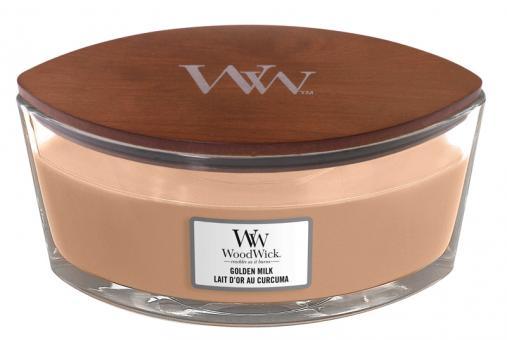 WoodWick Jar Ellipse Golden Milk