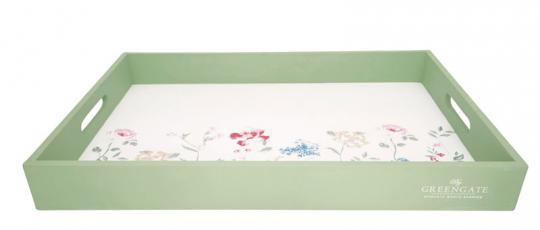 Greengate Tablett 31x45 cm Thilde white