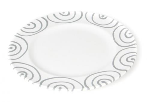 Gmundner Keramik Graugeflammt Teller/Dessert Gourmet