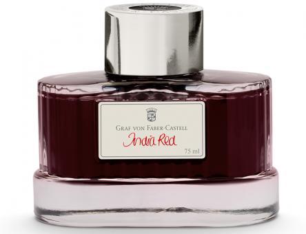 Graf von Faber-Castell Tinte im Glas India Red 75ml