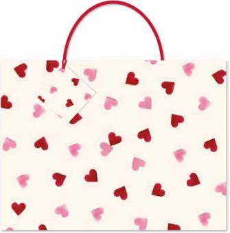 chic.mic Geschenktüte XL Pink Hearts