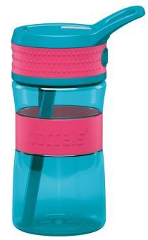 Boddels Trinkflasche Een 400 ml himbeerrot / türkis