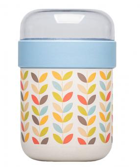 chic.mic Lunchpot Bioloco Plant rows of leaves