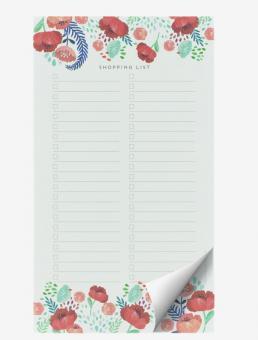 Legami Schreibblock 19x11cm Paper Thoughts Flowers