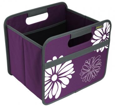 Meori Faltbox 15L Classic Small Mitternacht Magenta/Blumen