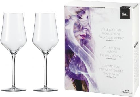 Eisch Sky Sensis plus Weißwein 2 Stk. im Geschenkkarton