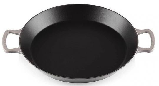 Le Creuset Paella Pfanne 34 cm Flint Gusseisen
