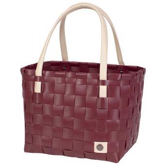 Handed By Shopper S Color Block burgundy