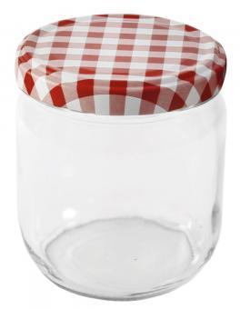Einkochwelt Sturzglas mit Schraubdeckel 425 ml TO82