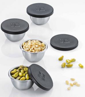 Küchenprofi Mini-Gewürzdosen 50 ml 4er Set