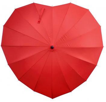 Legami Regenschirm herzförmig I love you