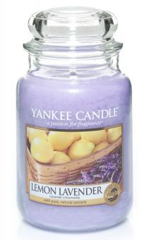 Yankee Candle Kerze groß Lemon Lavender