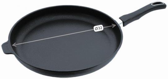 Gastrolux Guss-Bratpfanne mit Stiel Ø 32 cm