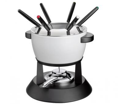 Küchenprofi Fondue Set Davos Weiß