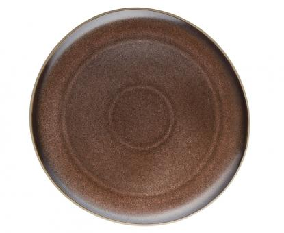 Rosenthal Selection Junto Bronze Teller Flach 27 cm