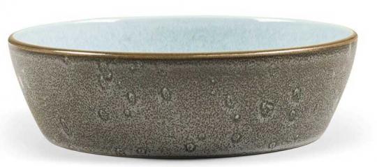 Bitz Bowl 18 cm grau/hellblau