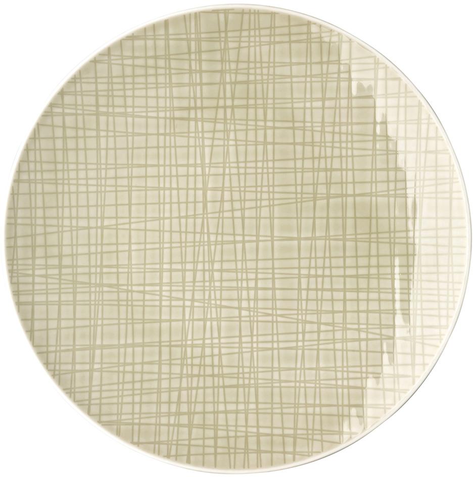 rosenthal selection mesh cream teller flach 24 cm. Black Bedroom Furniture Sets. Home Design Ideas