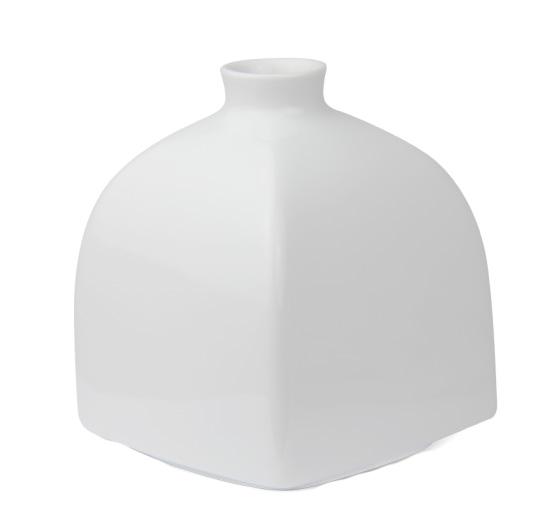 Kpm Berlin Vase Würfelform Groß Weiß Vasen Weiß Artgusto De