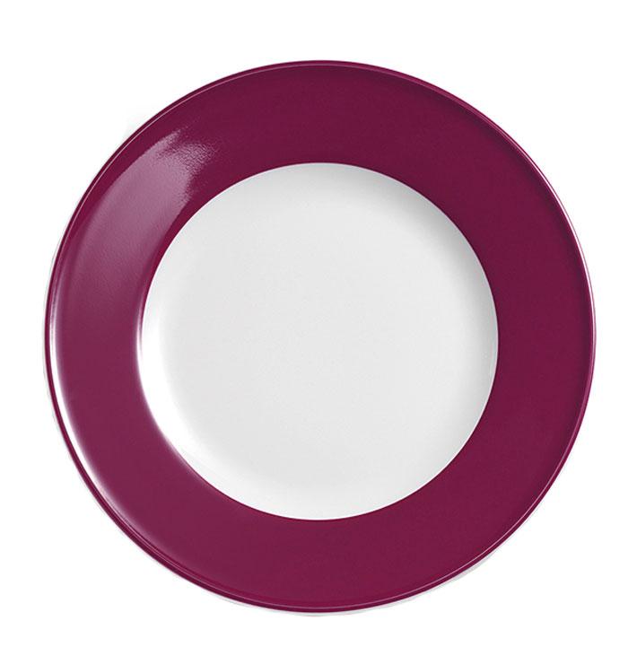 dibbern solid color bordeaux teller flach 26 cm fahne solid color bordeaux. Black Bedroom Furniture Sets. Home Design Ideas