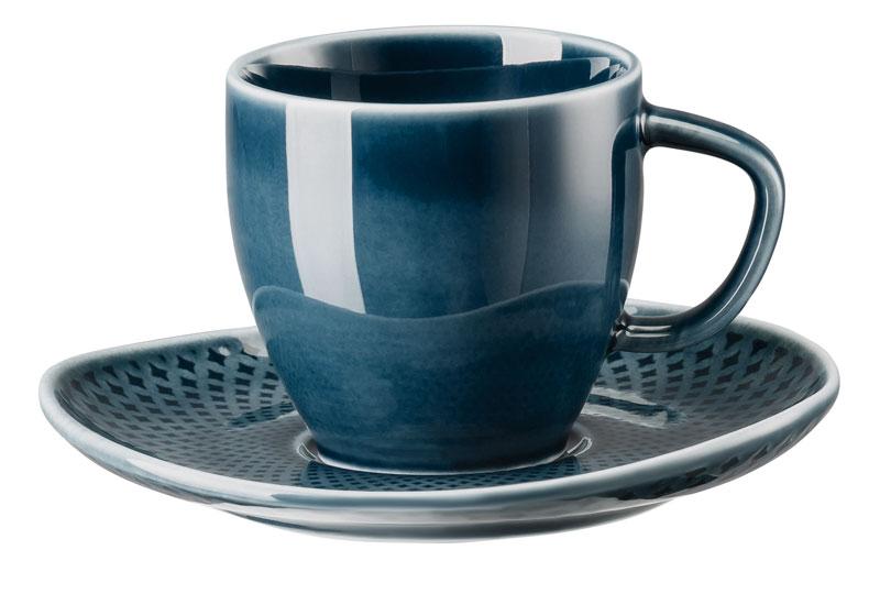 rosenthal selection junto ocean blue espressotasse im. Black Bedroom Furniture Sets. Home Design Ideas