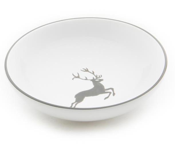 gmundner keramik grauer hirsch schale salat 17 cm. Black Bedroom Furniture Sets. Home Design Ideas